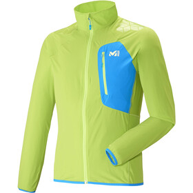 Millet LTK Airy Jacket Herr acid green/electric blue